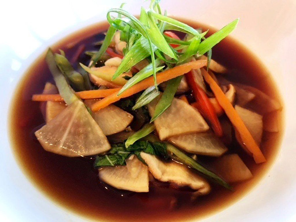 Winter Radish Soup With Ginger and Soy to Reset Your Gut