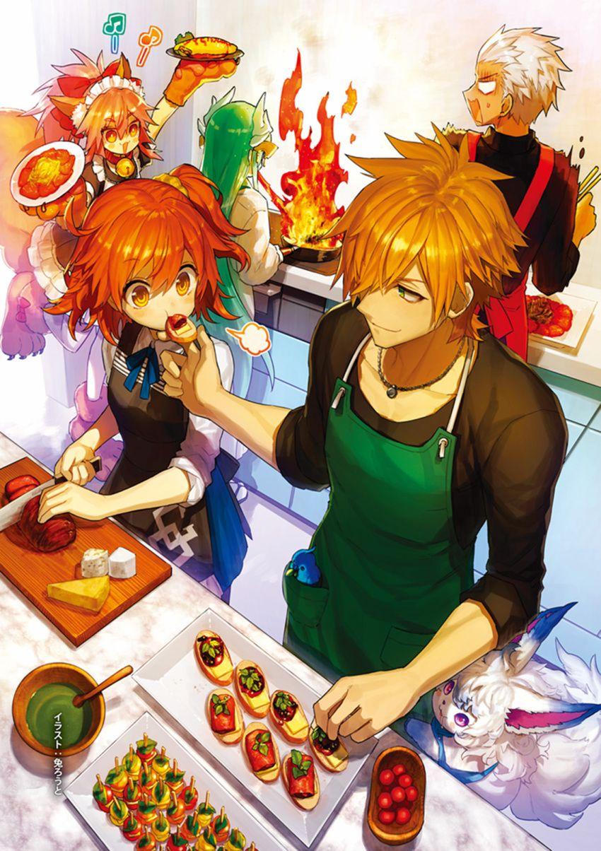 Gudako / Tamamo-no-Mae / Robin Hood / Archer / Kiyohime