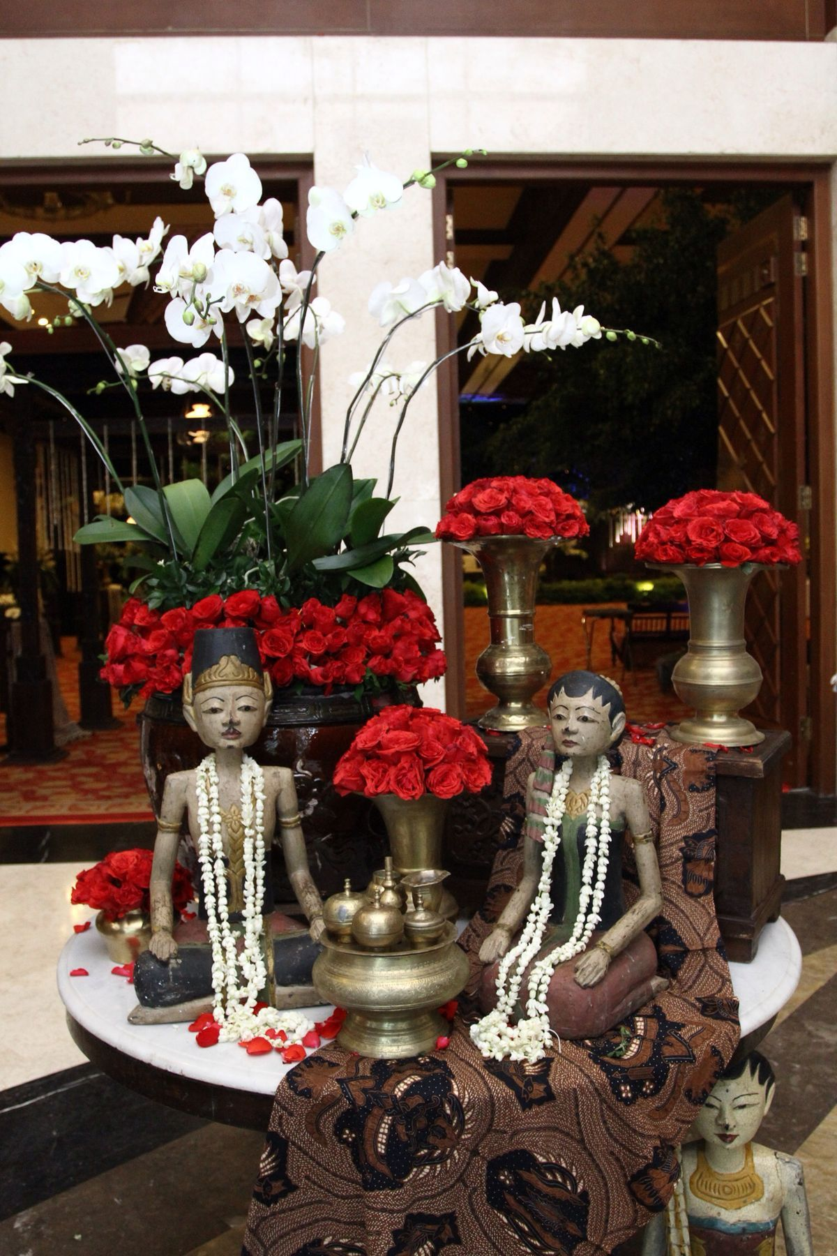 Javanese wedding decor