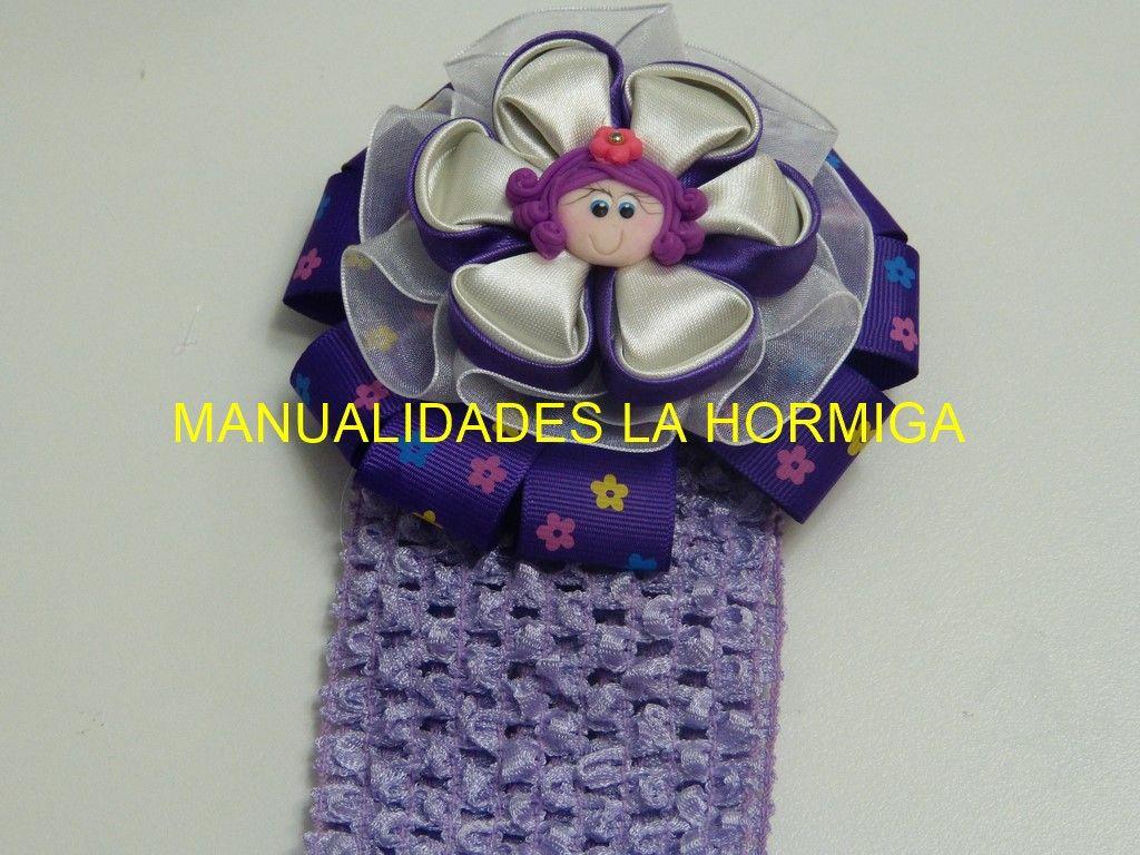 Flores Kanzashi para decorar Balacas https://www.youtube.com/watch?v=RpBDHNBXcXU