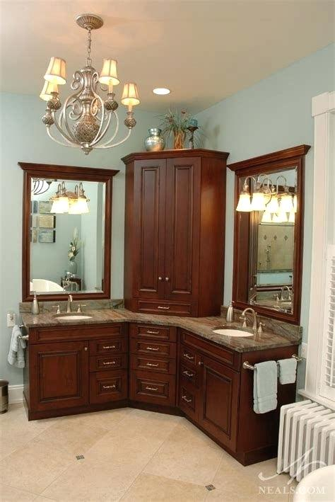 Pin by Katie Williams on Bathroom Corner bathroom vanity