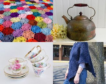 January Gifts features great items, including our hexagon afghan!
