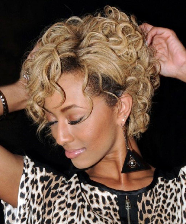 Keri Hilson Short Curly Hair Best Short Hair Styles