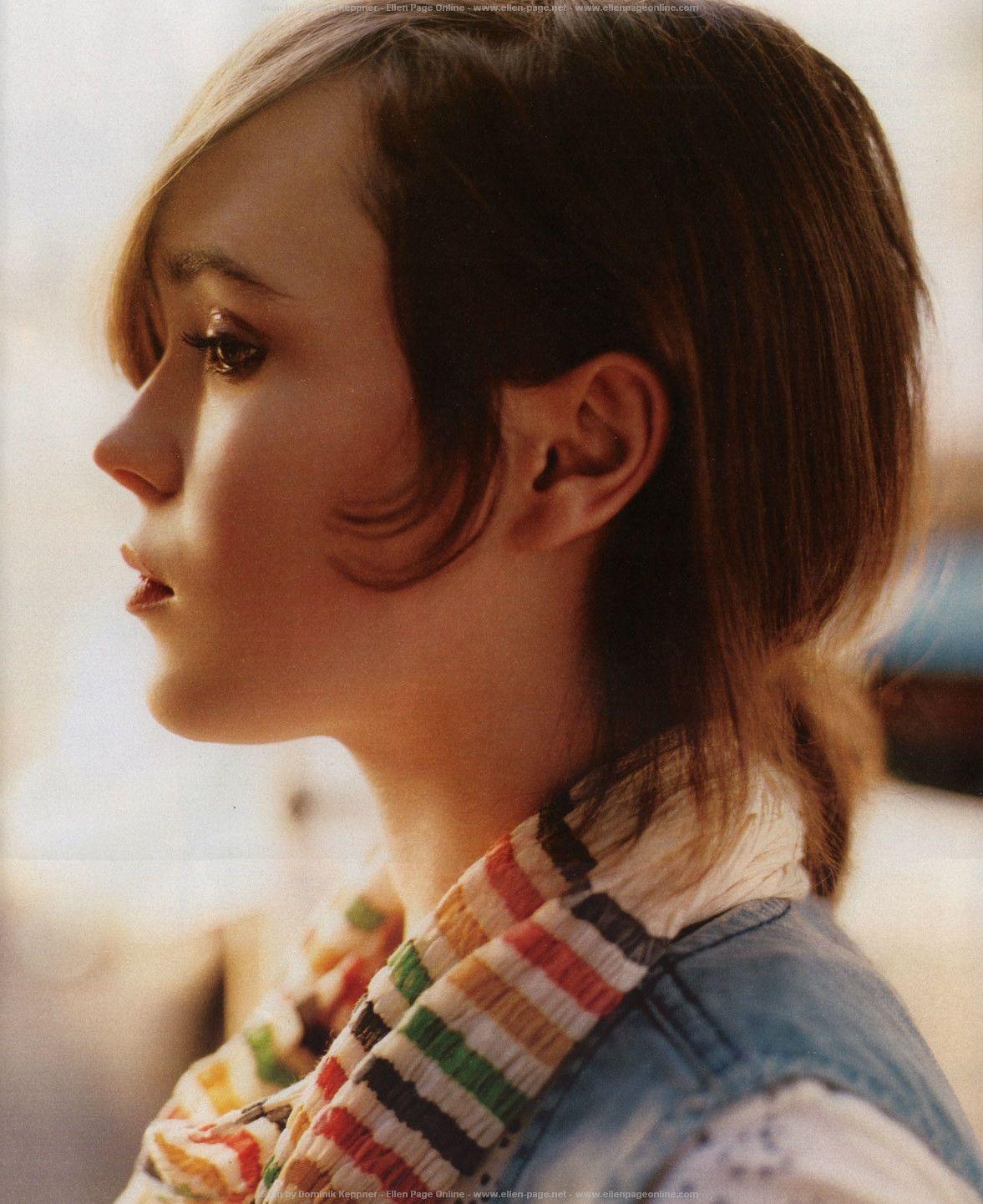 Ellen Page. Pucha.