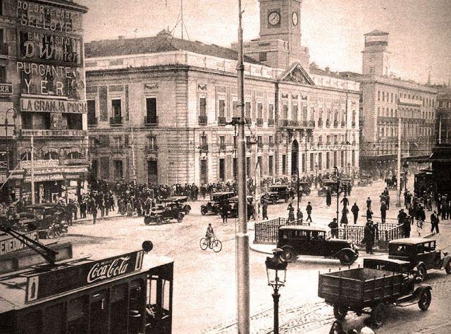 Puerta del Sol en 1929