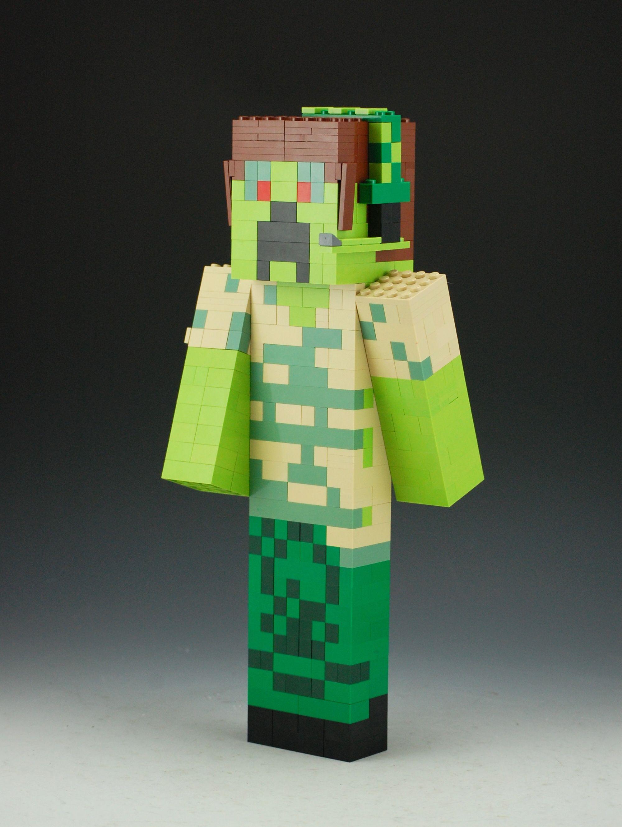 Lego Minecraft Custom Skin  Lego minecraft, Minecraft creations, Lego