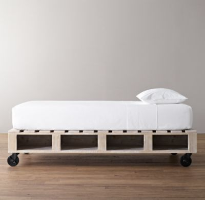 Warehouse Pallet Bed All Beds Restoration Hardware Baby Child Pallet Projects Furniture Diy Pallet Bed Diy Pallet Furniture