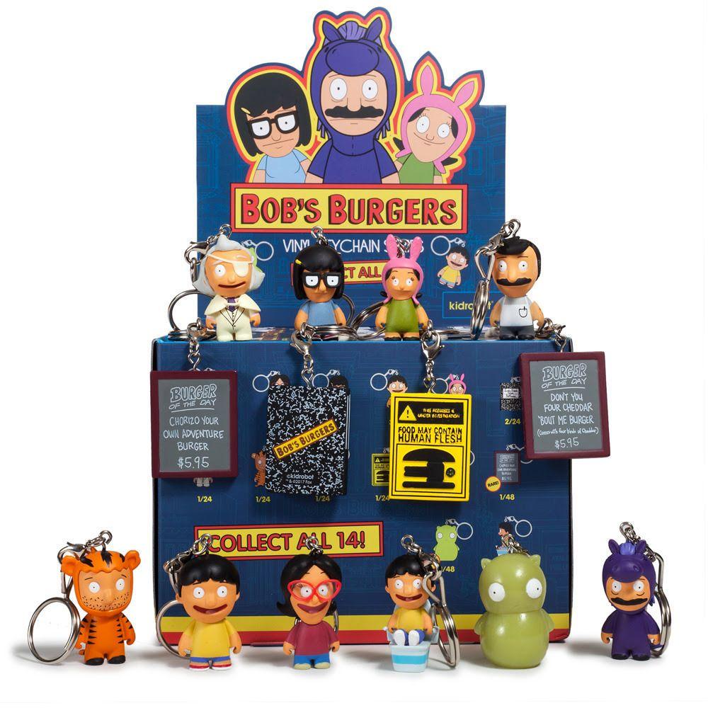 Kidrobot Bob/'s Burger Series 2 Mini Blind Box Case 24 pcs New Sealed!