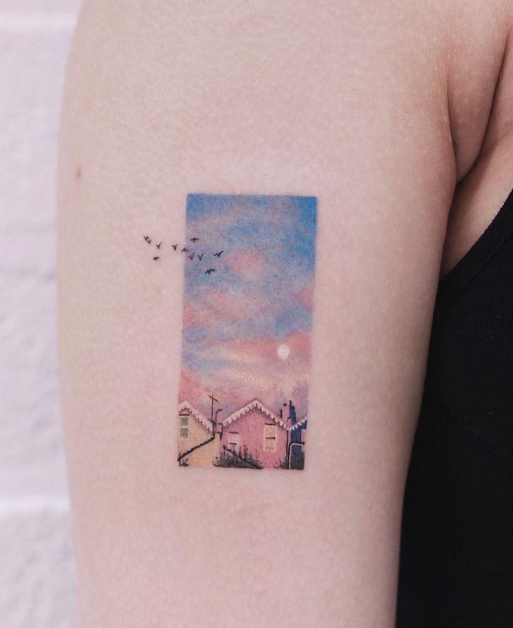 Photo of Saegeem is an amazing tattoo artist. She is in Seoul, Korea … – #a #e …