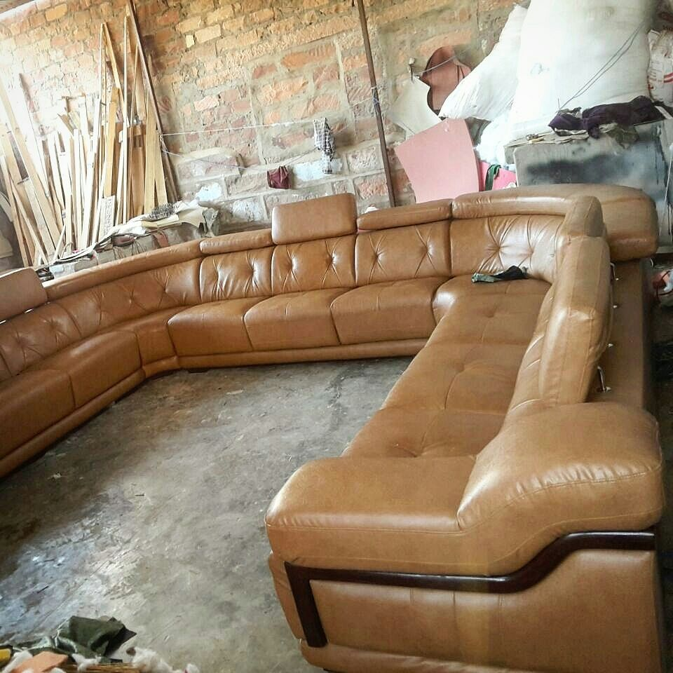 Large C Shaped Luxury Sofa For One Of Our Hotel Projects Will