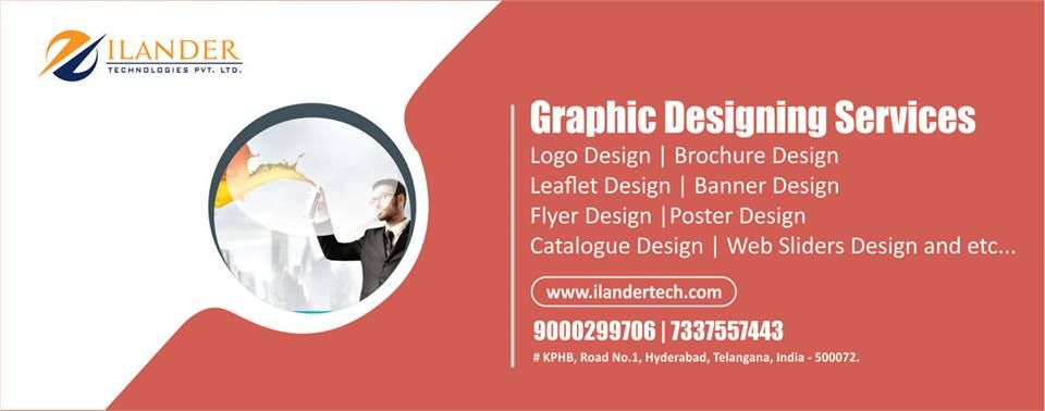 Need A Graphic Designer Now You Are Away Just Call 7337557446 9000299706 Ilander Is Creati Graphic Design Company Fun Website Design Creative Graphic Design