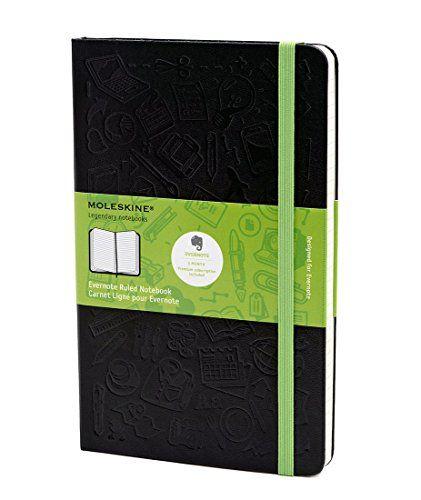 Moleskine Evernote Smart Notebook Pocket Squared Black Hard Cover 3 5 X 5 5 Evernote Smart Notebooks Molesk Moleskine Evernote Evernote Ruled Notebook