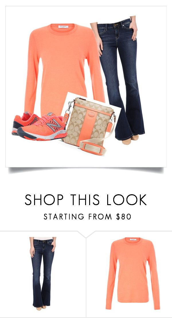 """""""Airport Comfort"""" by onthegoglobal8 ❤ liked on Polyvore featuring Calvin Klein Jeans, Equipment and New Balance"""