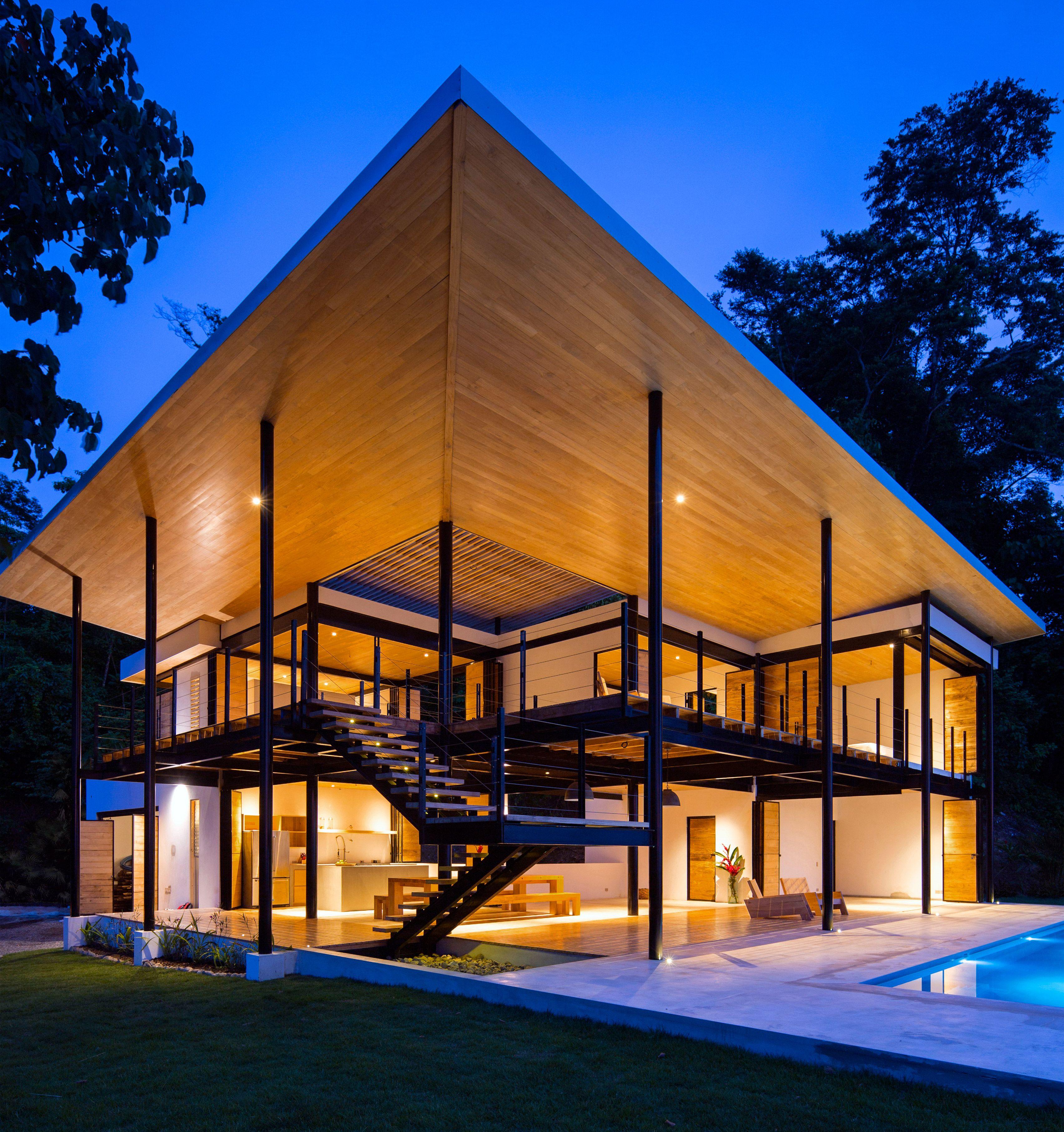 Benjamin Garcia Saxes Ocean Eye House Features Movable Wooden Walls