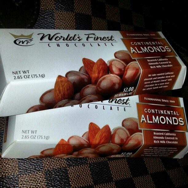 Photo By Nanmacjuicy58 Chocolate Covered Almonds Worlds Finest