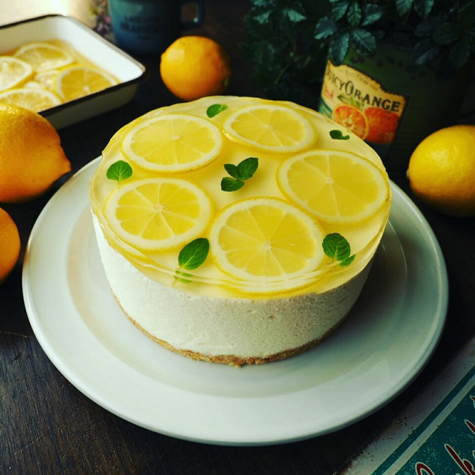レモン チーズ ケーキ
