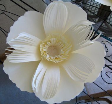 Carols Crafted Paper Flower Cottage For The Love Of Paper Flowers