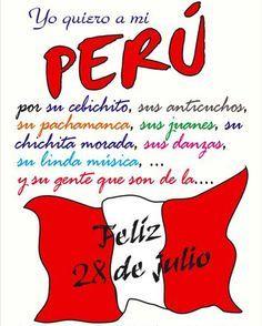Yo Quiero A Mi Peru Buscar Con Google Felices Fiestas