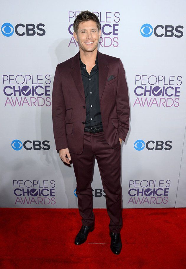 Jensen on the Best Dressed list? Oh yes. =) (34th Annual ...