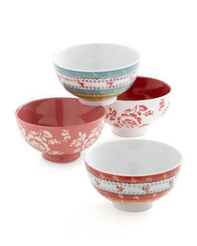 printed bowl set / modcloth