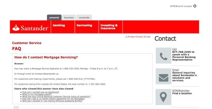 Santander Mortgage Email Address Santanderbank Com Mortgage Business Person Santander