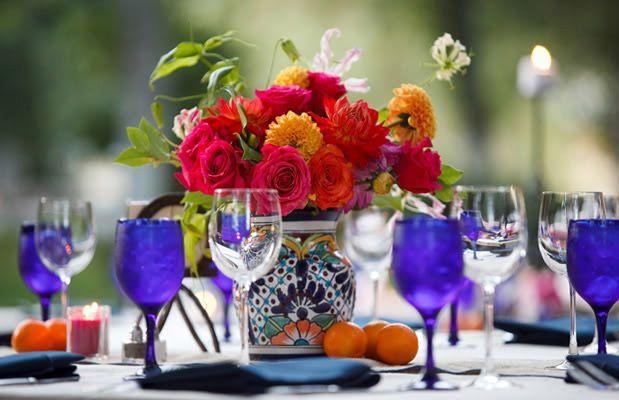 Mexican Wedding Centerpieces