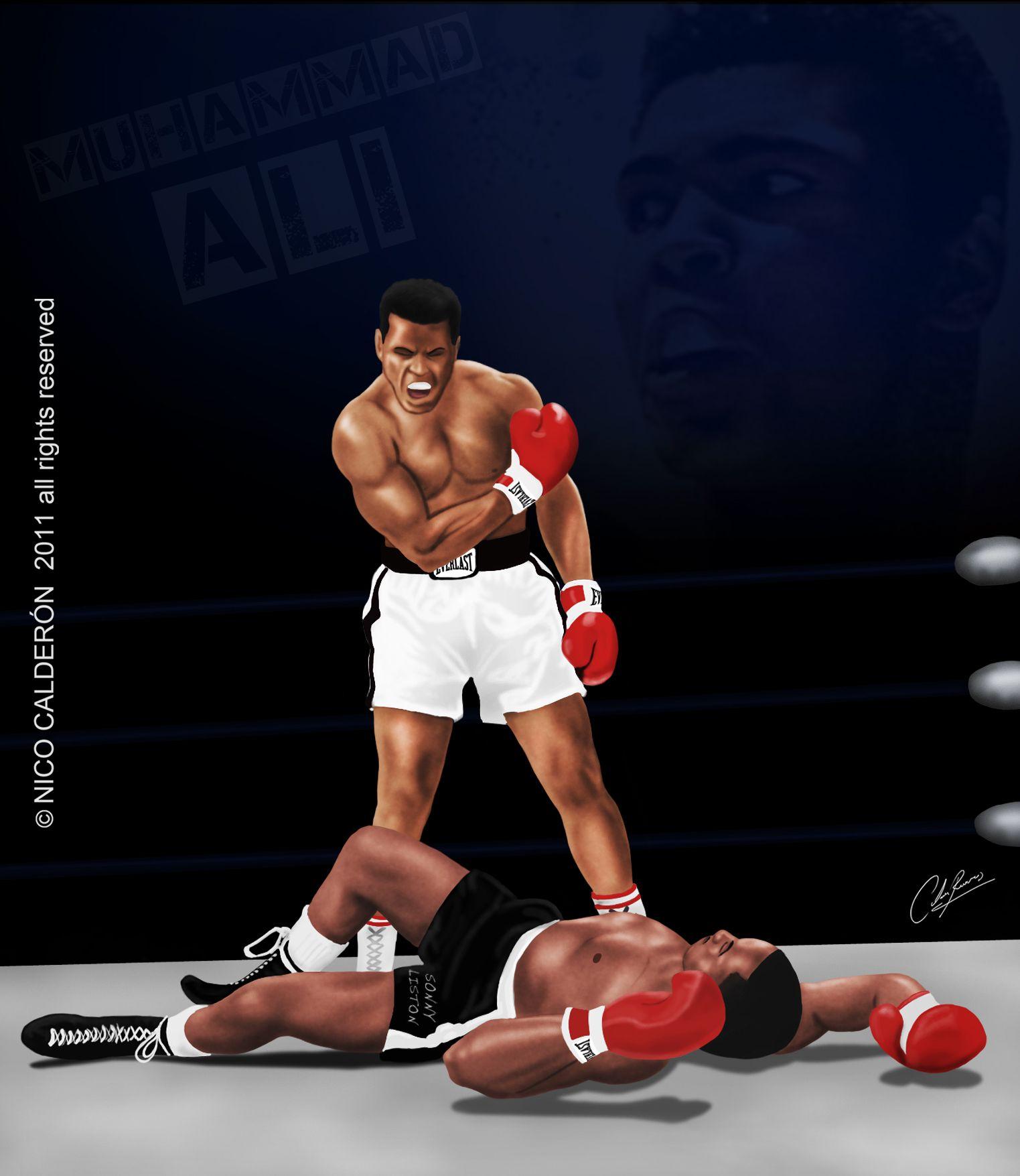 Muhammad Ali Vs Sonny Liston 2
