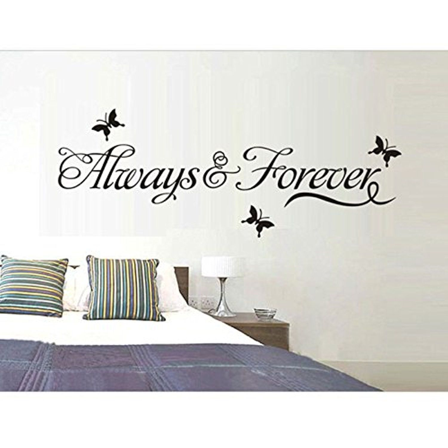 Shopline Always Forever Removable Art Vinyl Mural Home Room Decor Wall Stickers -- Awesome products selected by Anna Churchill