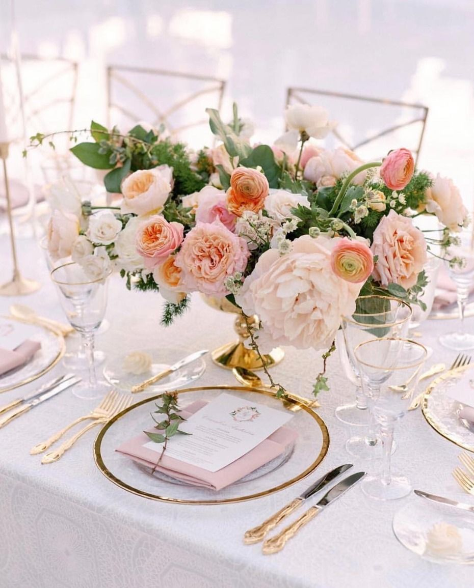 Coral Wedding Reception Ideas: Living Coral Is About To Go Live For 2019 Weddings