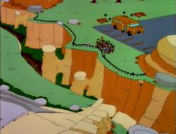 Springfield Gorge   Los simpsons