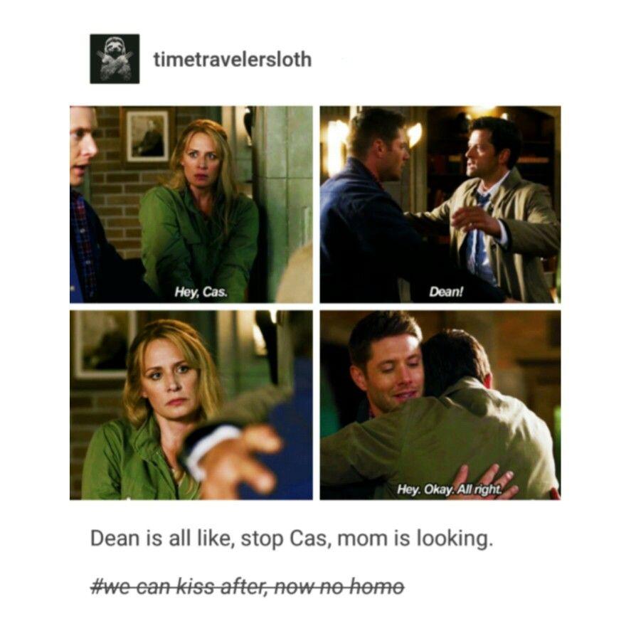 supernatural tumblr textpost destiel funny lol mary