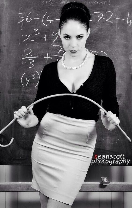 in Femdom college wife