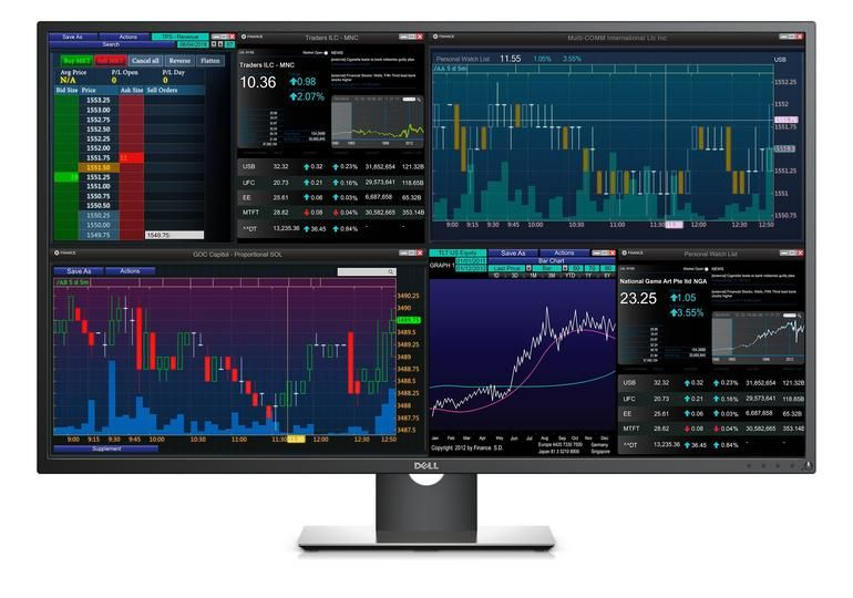 This 43 Inch Dell Monitor Is Actually Four Monitors In One