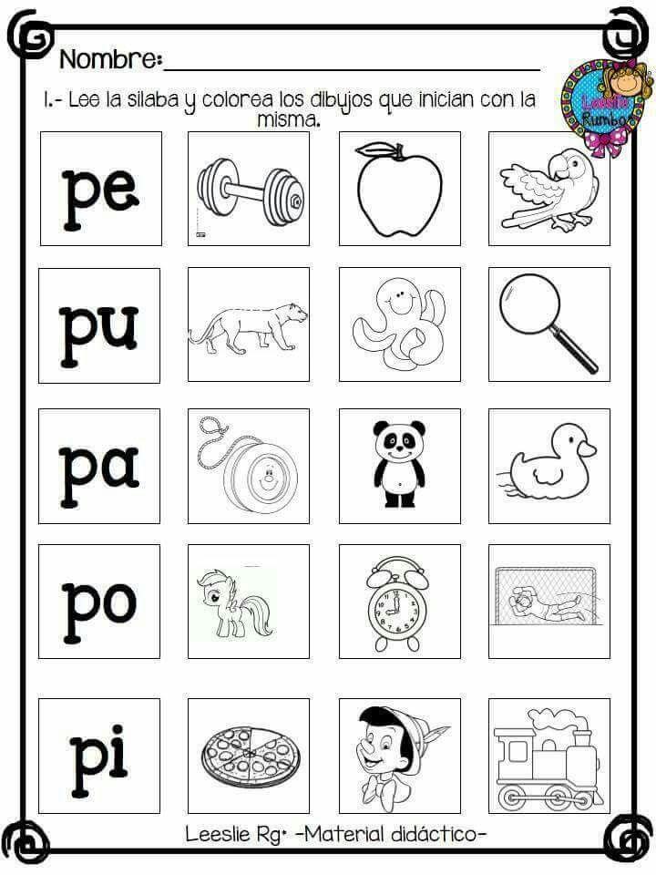 Consonantes L P S M Consonantes L S P M Escritura De
