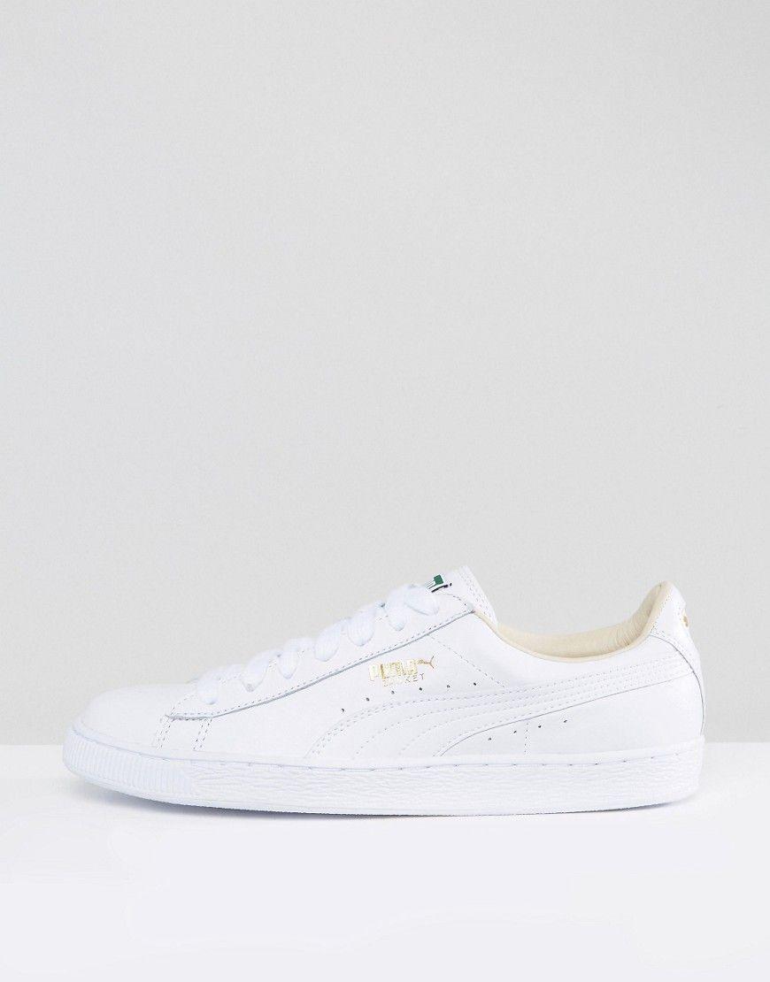 Puma Basket Classic LFS Sneakers In White 35436717 White