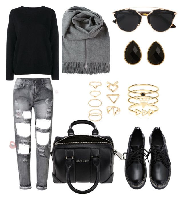 """Untitled #447"" by aatk on Polyvore featuring Christian Dior, Frame Denim, Givenchy, Accessorize, Natasha Accessories, Forever 21, women's clothing, women's fashion, women and female"