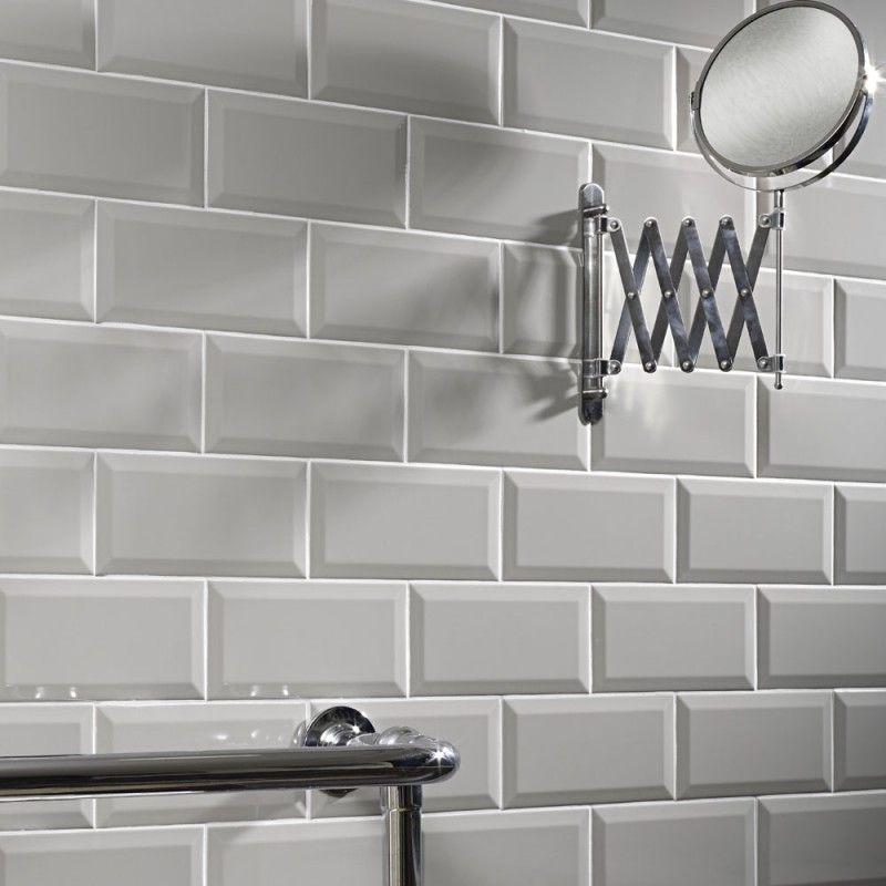 metro-light-grey-wall-tile-10x20cm.jpg (800×800)   salle de bain ...