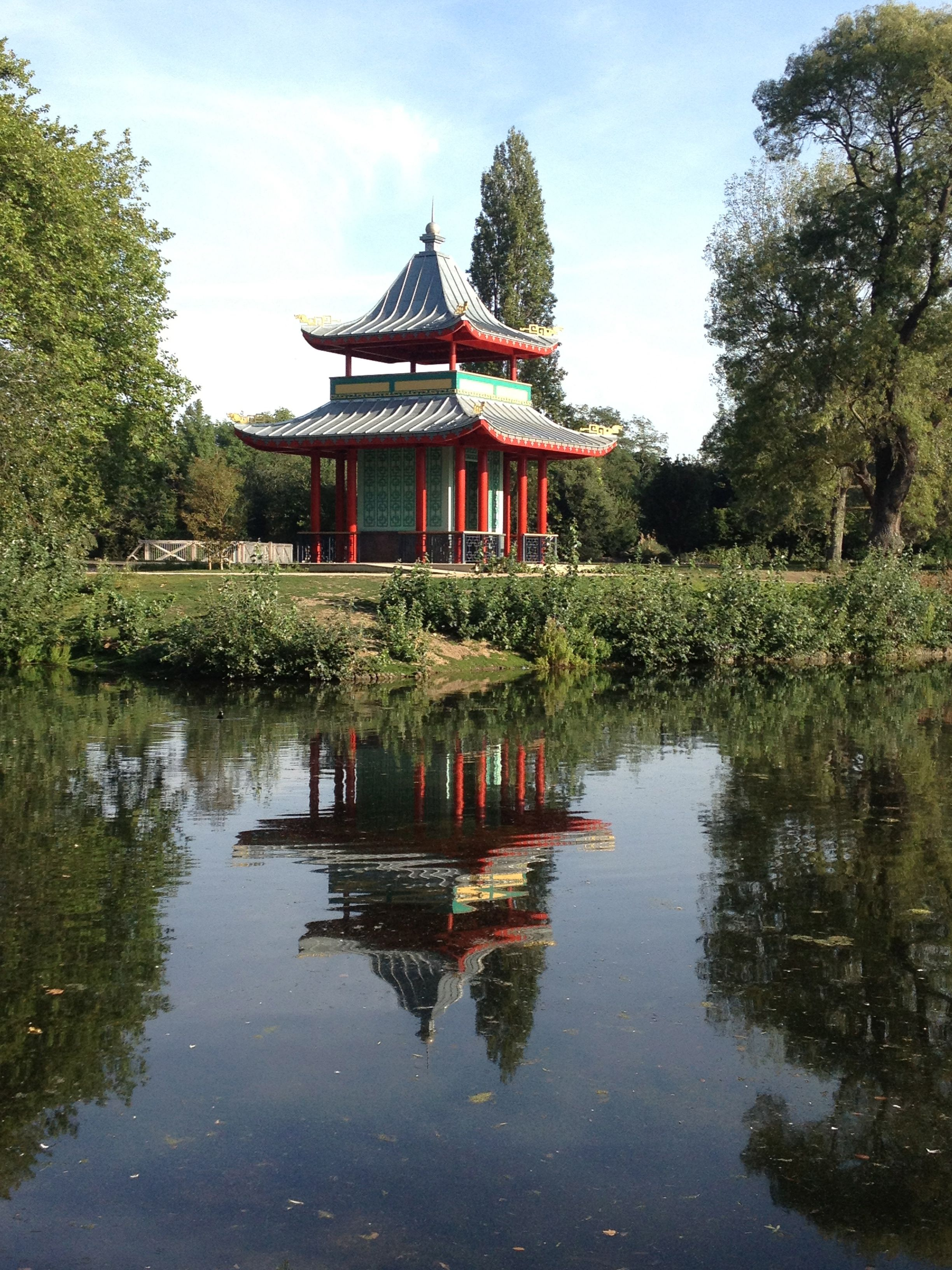 Victoria Park, London, Japanese Garden I knew London was