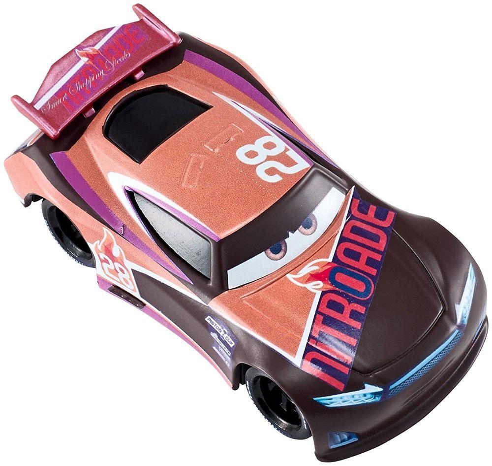 Disney Pixar Cars 3 Tim Treadless Nitroade Die Cast Vehicle Kids Toy