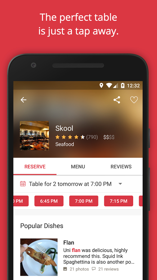 OpenTable Restaurants Near Me Screenshot UIAndroid Pinterest - Open table app for android