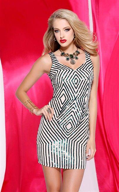 Shail K Sleeveless Silk Dress Nude & Forest | Awesome Fashion ...