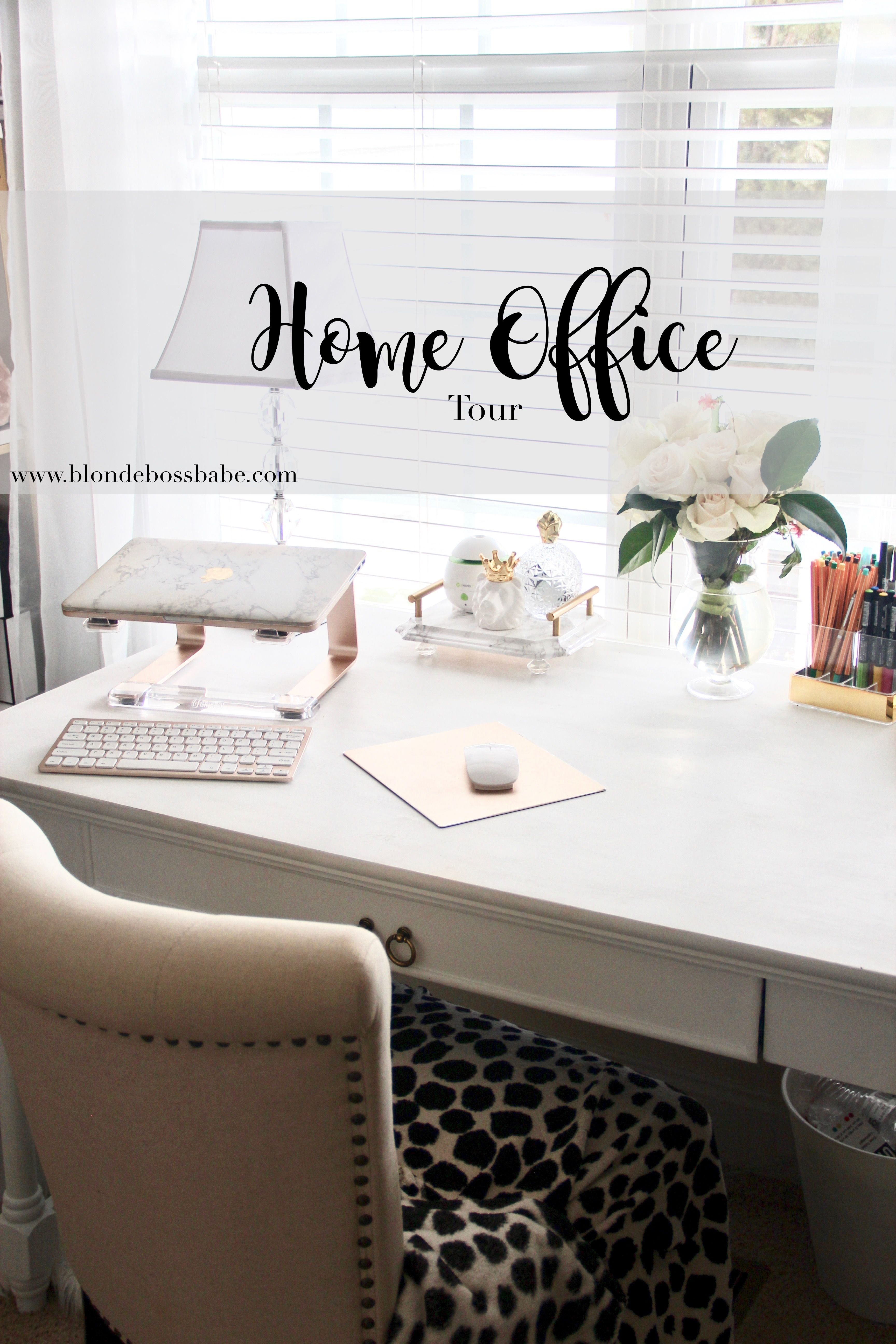 Spring Update Home Office Tour Home Home Office Room Decor