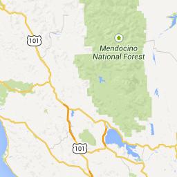 Napa County, CA to Chandelier Tree, California 95585, USA - 3 ...