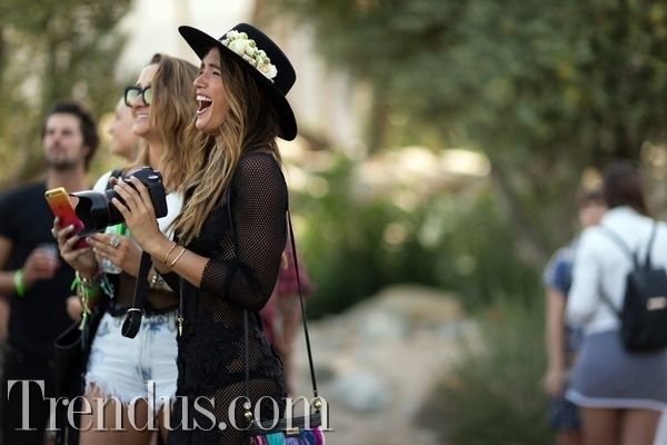 Coachella`dan Festival Stili