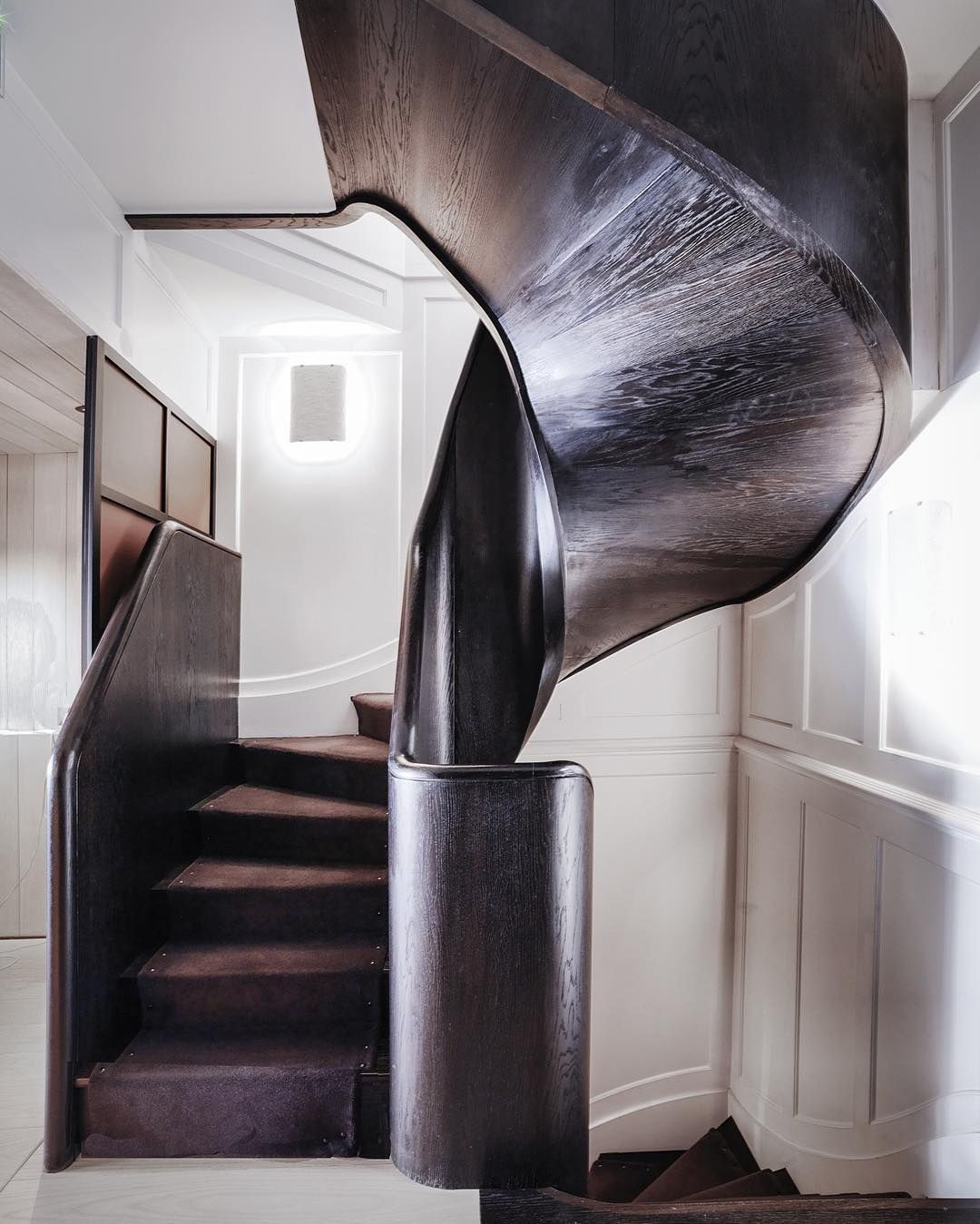 33 Staircase Designs Enriching Modern Interiors With: @gillesetboissier In 2019