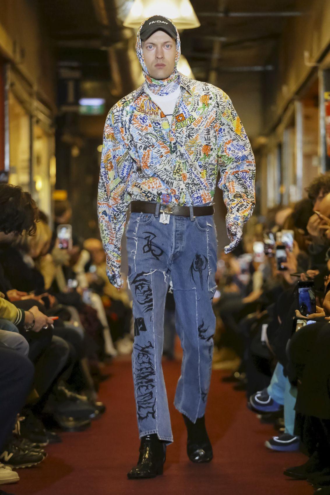Vetements Menswear Fall Winter 2018 Paris in 2019 ...