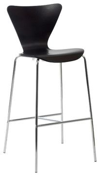 Tendy-B Bar Chair (Set Of 2)-Wen/Chr contemporary bar stools and counter stools