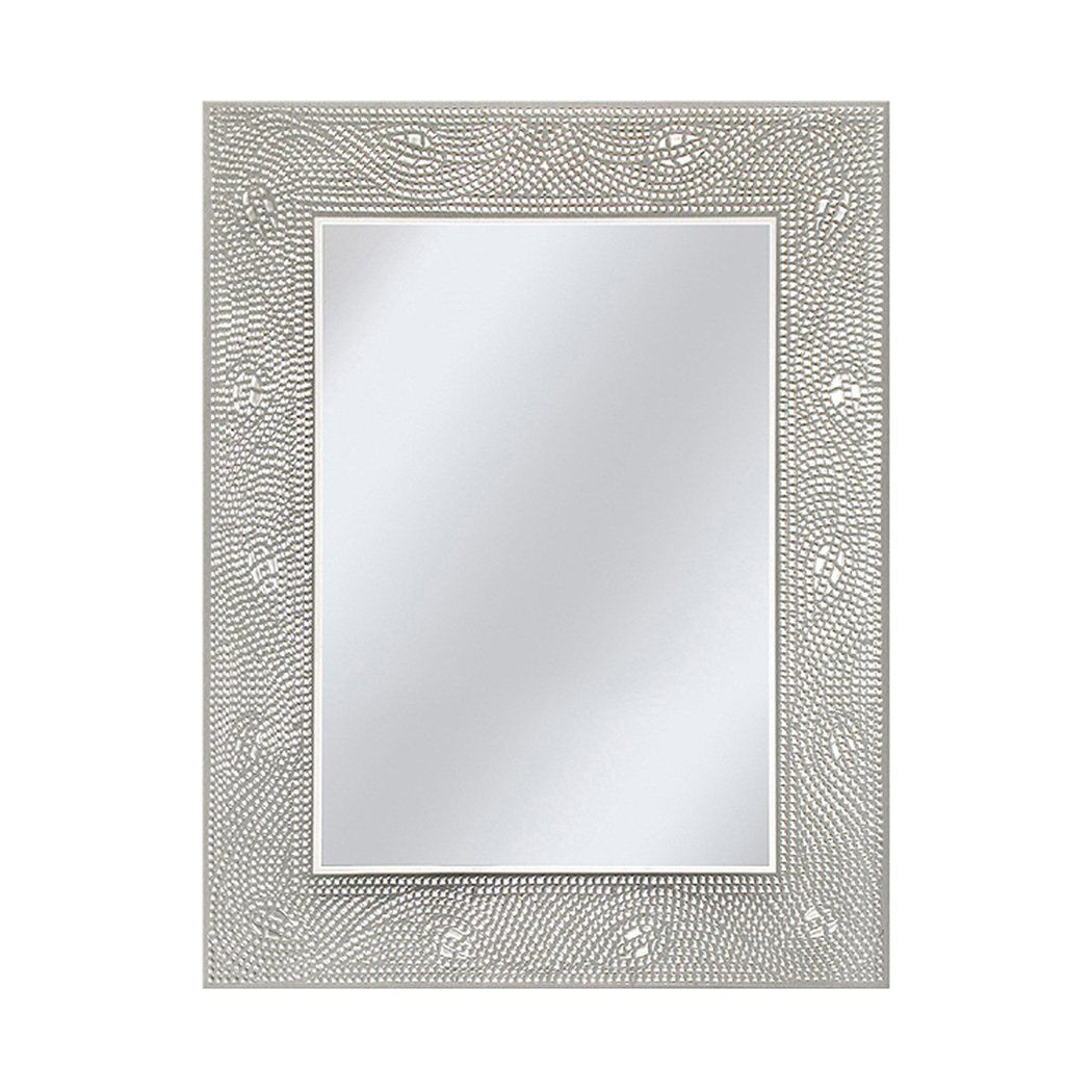 decorative bathroom mirror rectangle. AmazonSmile - Head West Crystal Mosaic Rectangle Mirror, 23-1/2 By 29 Decorative Bathroom Mirror E