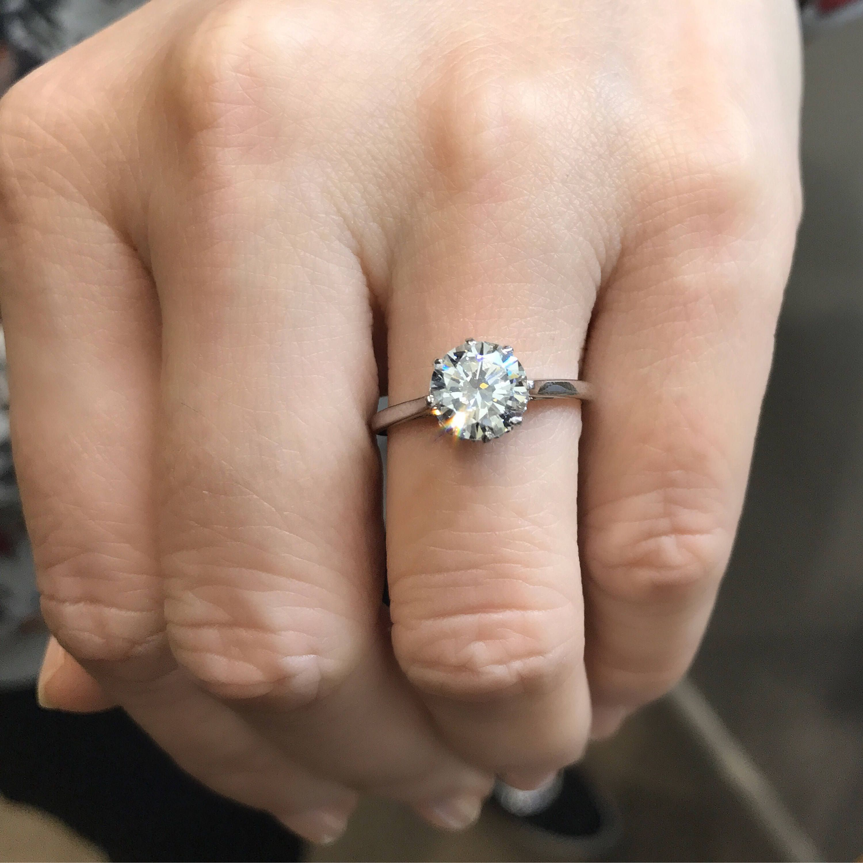 Dudee Trendy Ring Set Zircon Double Ring cz engagement ring fashion diamond ring