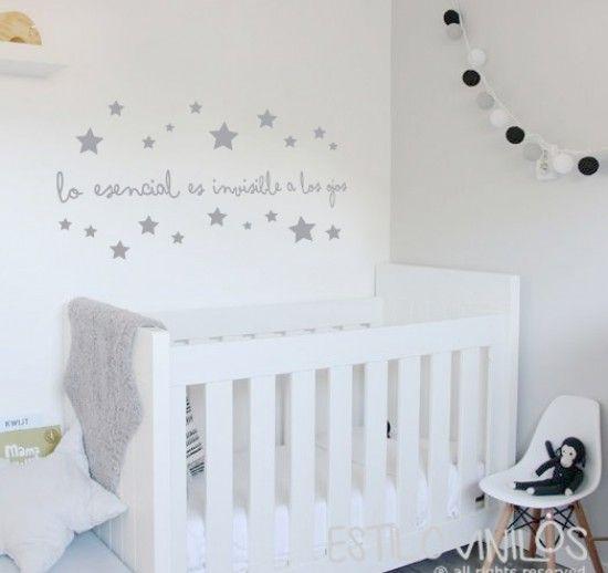 Frase El Principito Dormitorio Bebe Decoracion Habitacion